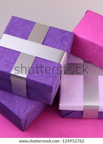 gift box - stock photo