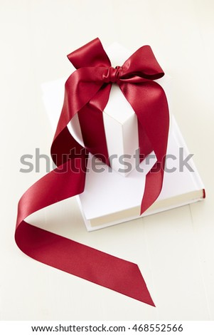 Gift box with book