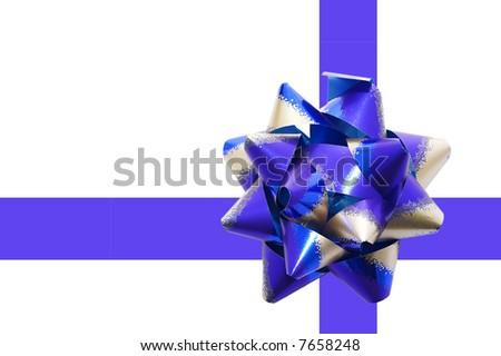 Gift Ribbon and Bow - stock photo