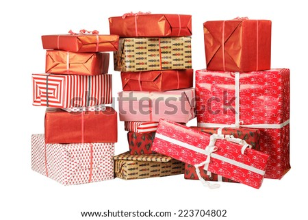 gifts 2 - stock photo