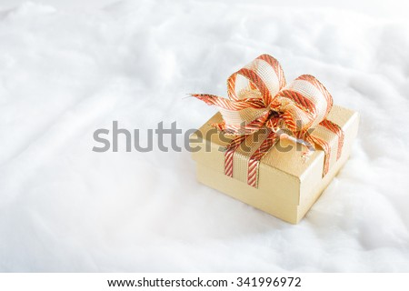 Gifts box during Christmas