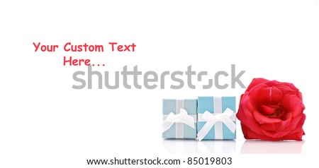 Gifts for The Holidays - stock photo