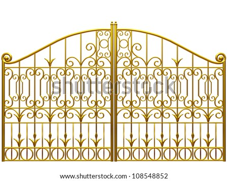 Gold Gate Stock Images Royalty Free Images Amp Vectors