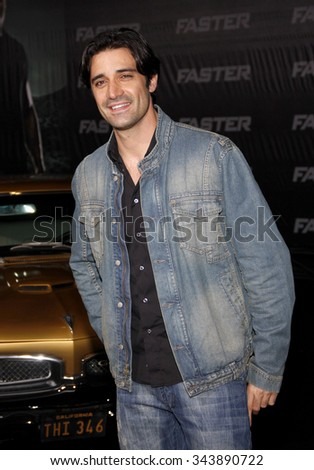"Gilles Marini at the Los Angeles Premiere of ""Faster"" held at the Grauman's Chinese Theater in Hollywood, California, United States on November 22, 2010."