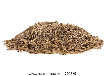 Ginseng herb root used in chinese herbal medicine. Isolated over white background. Ginnsuu, panax.
