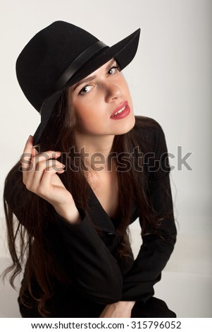 girl in the hat