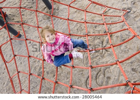 girl on playground web