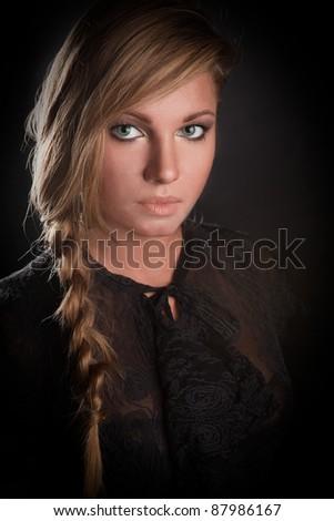 girl photo - stock photo