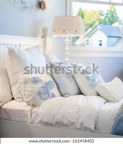 Girl's Bedroom Detail - stock photo