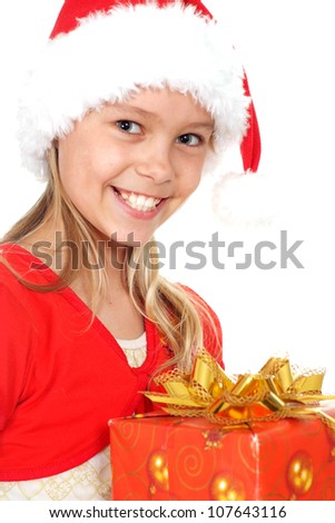 Girl showed herself in the photos in all her glory - stock photo