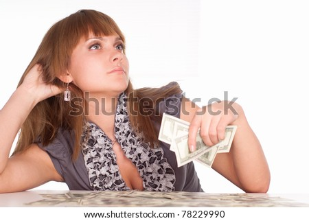 girl sitting at table