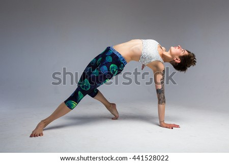 girl studio yoga