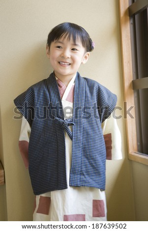 girl wearing yukata