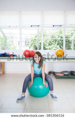 therapy ball stock images royaltyfree images amp vectors