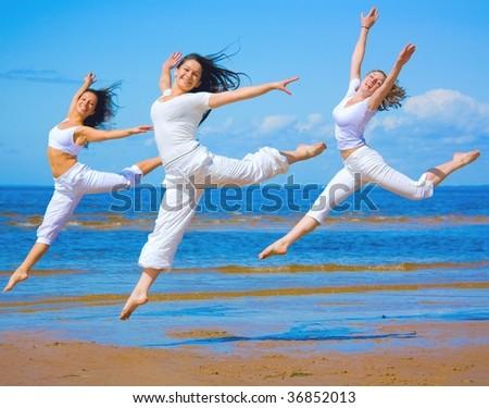 Girls from Ballet - stock photo