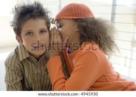 Girls getting ready - stock photo