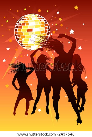 Girls out for the night. - stock photo