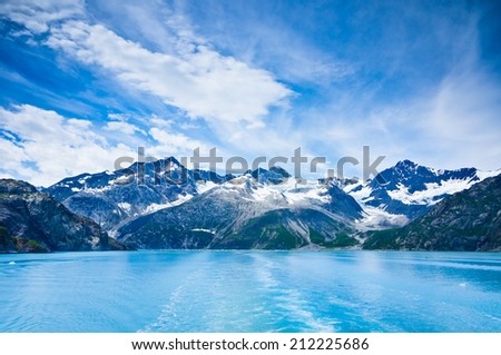 Glacier Bay Mountains Alaska United States Stock Photo - United states mountains