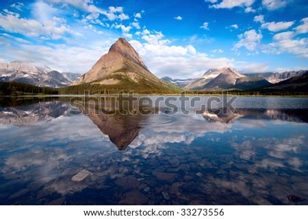 Glacier National Park. Montana - stock photo