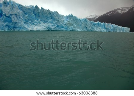 Glacier Perito Moreno - stock photo