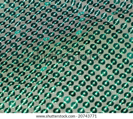 Glamor shimmering sequin background. More of this motif & more fabrics in my port. - stock photo