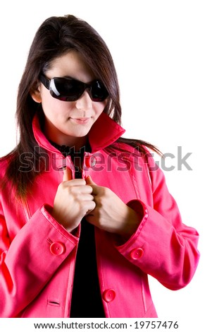 Glamorous winter - stock photo
