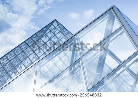glass background