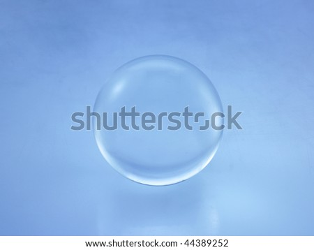 glass ball - stock photo