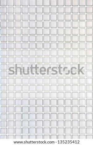 glass block wall background - stock photo