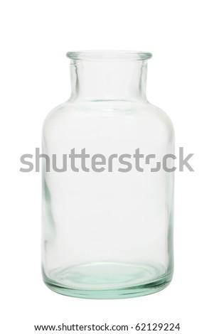 Glass bottle - stock photo