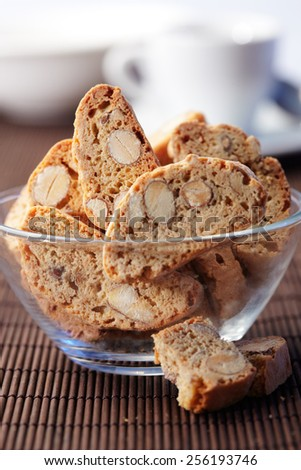 Glass Bowl of a cookies