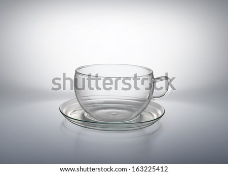 Glass Cup - stock photo