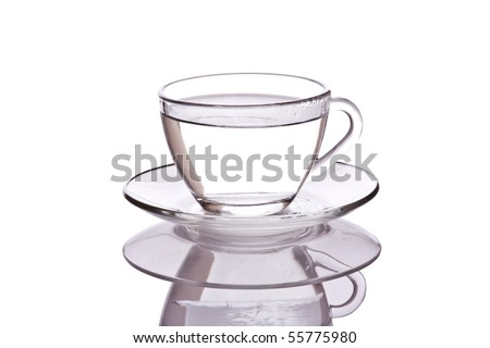 Glass Cup of Tea
