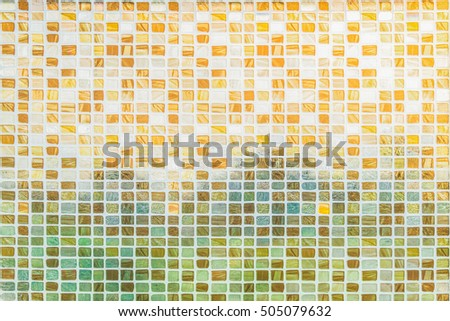 Glass curtain on the window background