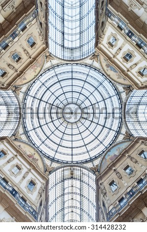 Glass dome  - stock photo