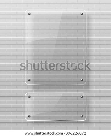 Glass framework  - stock photo