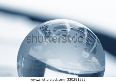 glass globe ball