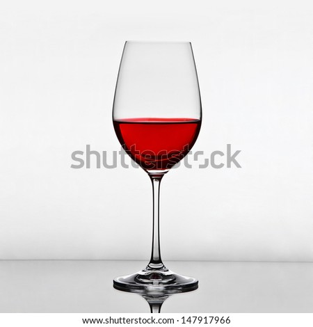 glass of wine - stock photo