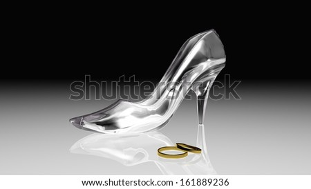 real life wearable glass shoes- | Fluffing | Pinterest