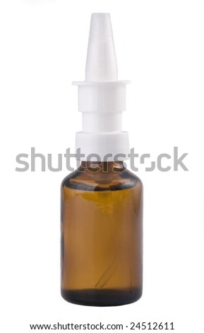 glass spray container for medicine