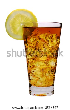 glass with a drink