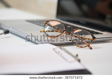 glasses with computer