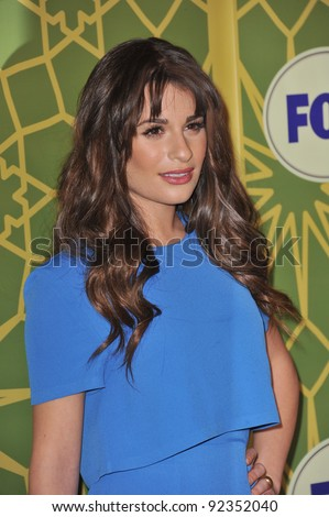 Glee star Lea Michele at Fox TV's Winter 2012 All-Star Party at Castle Green in Pasadena. January 8, 2012  Pasadena, CA Picture: Paul Smith / Featureflash