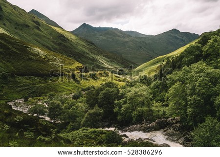 Glen Shiel Valley