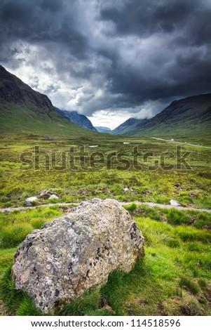Glencoe - stock photo