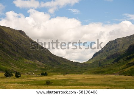 Glencoe - stock photo