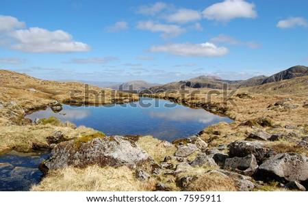 Glencoe scotland - stock photo