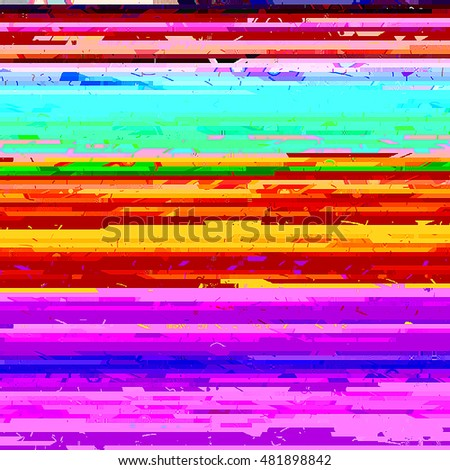Glitch effect background. Raster abstract background. best for party flayers.