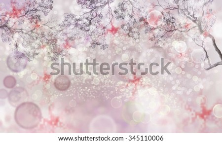 glitter bokeh lights background. soft colorful background of bokeh. defocused and poorly rasterize.  - stock photo