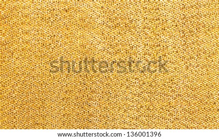 glitter golden surface texture background - stock photo